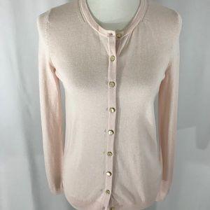 Talbots Pale Pink Cardigan